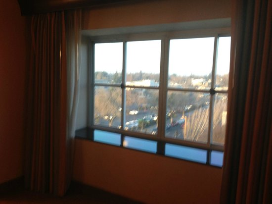 DoubleTree by Hilton Modesto: Room 502 View