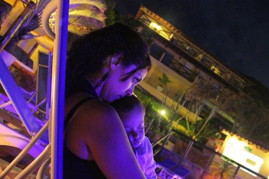 Rio Buzios Beach Hotel: Reposeras en la pile