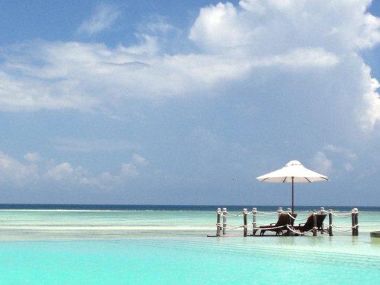 Essque Zalu Zanzibar:                   A view from the pool