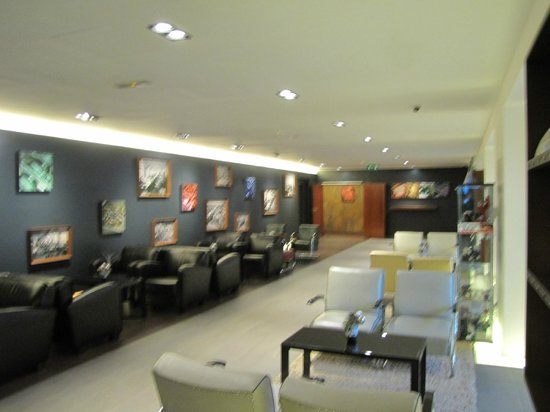 Park Inn Hotel Prague: Lobby seating area