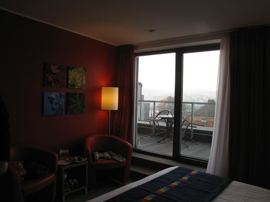Park Inn Hotel Prague: executive room terrace