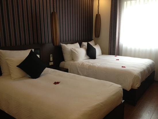 Golden Art Hotel: the bed room 501