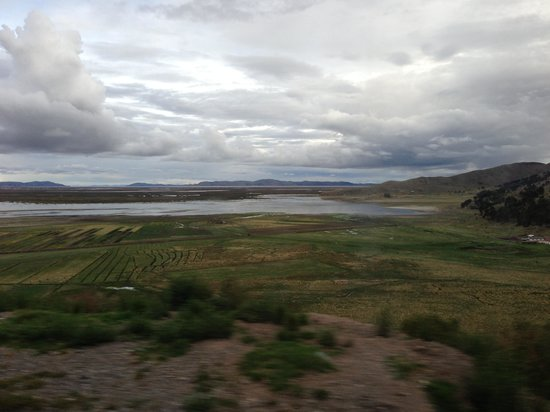 Libertador Lake Titicaca:                   Wonderful lake view.