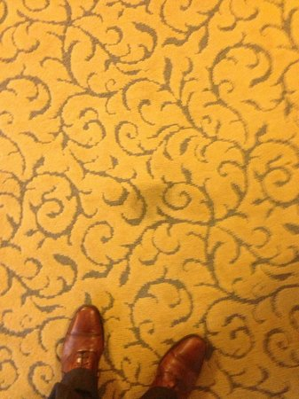Renaissance Chicago Downtown Hotel:                   Stain on carpet