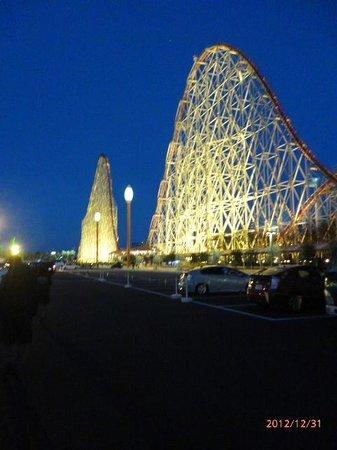 Nagashima Spa Land:                   ライトアップ02