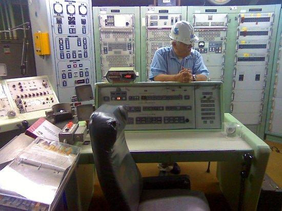 Titan Missile Museum:                                     The control room