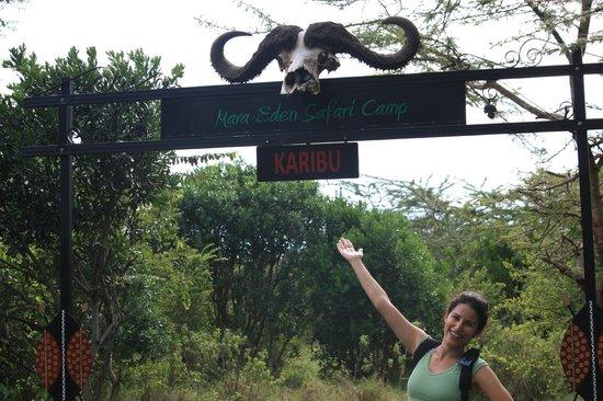 Mara Eden Safari Camp:                   Karibu
