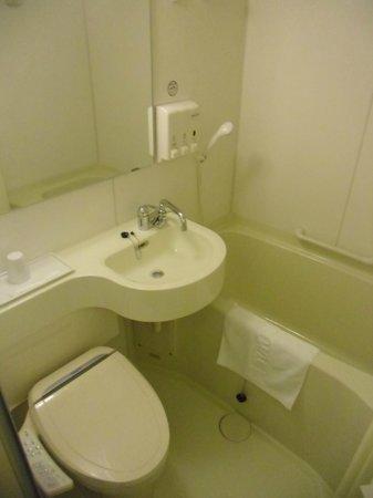 Toyoko Inn Kyoto Gojo-Omiya: Bathroom