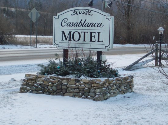 ‪‪Casablanca Motel‬: Welcome to the Casablanca Hotel‬