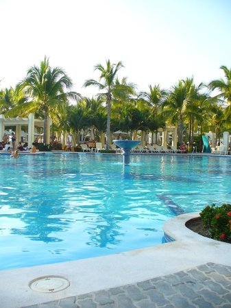 Hotel Riu Vallarta:                                     Adult pool area - not to cold