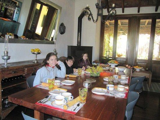 La Casa de los Limoneros: desayuno