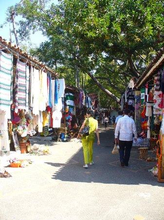 Hotel Riu Vallarta:                                     Flea Market in