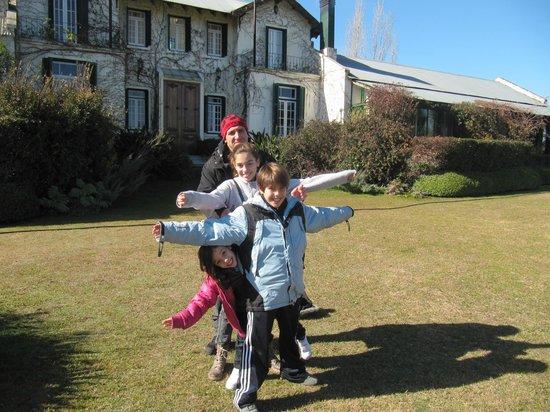 La Casa de los Limoneros: frente de la casa