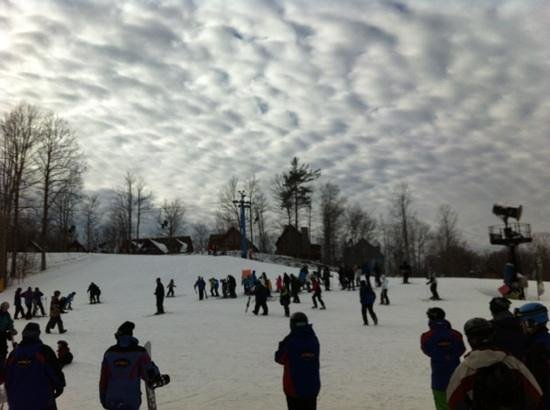 Winterplace Ski Resort: cool clouds