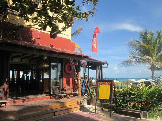 Fusion Bar & Restaurant: El restaurante