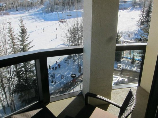 The Westin Snowmass Resort: view from the balcony