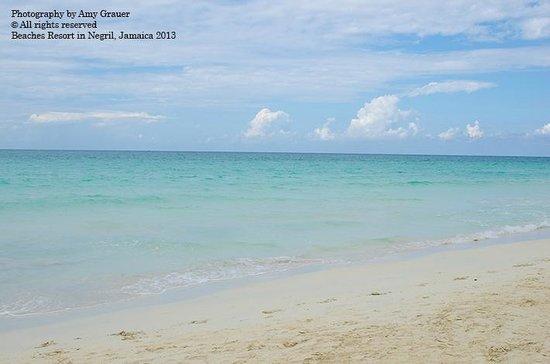 Beaches Negril Resort & Spa:                                     Beach!