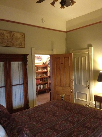 Sanders - Helena's Bed and Breakfast:                                     looking out to hallway, 2nd floor