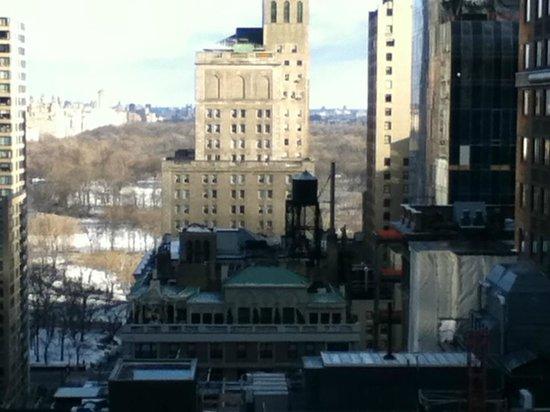 Wellington Hotel:                                                       Vista desde la habitación