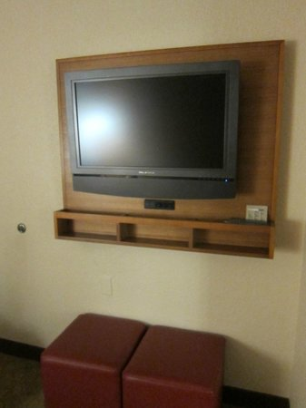 SpringHill Suites by Marriott San Antonio Downtown/Riverwalk Area: tv in the bedroom