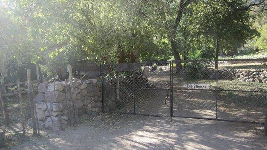 Urique, Mexico:                   Main gate