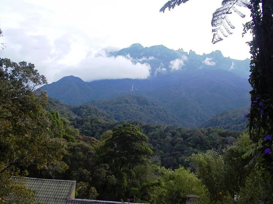 Mount Kinabalu:                   The mountain from the park