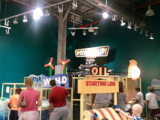 Jackson, Mississippi: One of the science exhibits