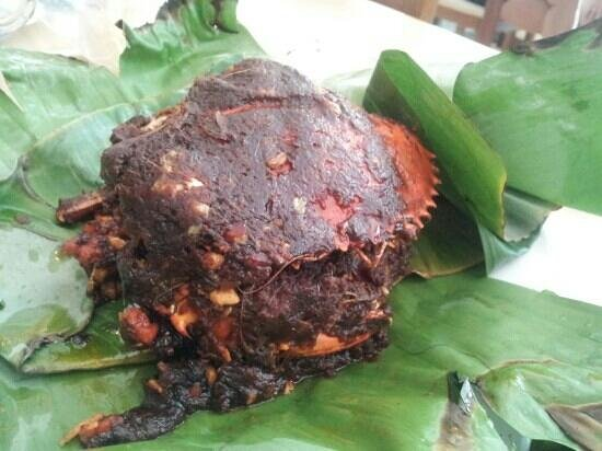 Rasane Sea Food:                                                       kepiting asap