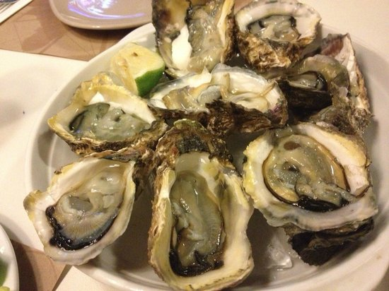 Mr. Rockefeller: mouth watering Oysters!!!