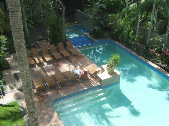Reef Club Resort:                   View from apartment 21