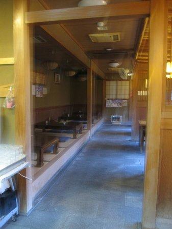 Ryokan Yamazaki:                                     Dining area