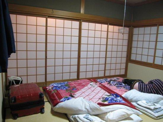Ryokan Yamazaki:                                     Room (january 2013)