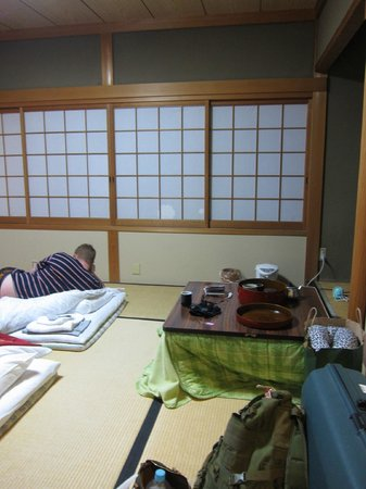 Ryokan Yamazaki:                                     Room