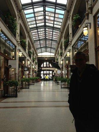Inside the Grove Arcade