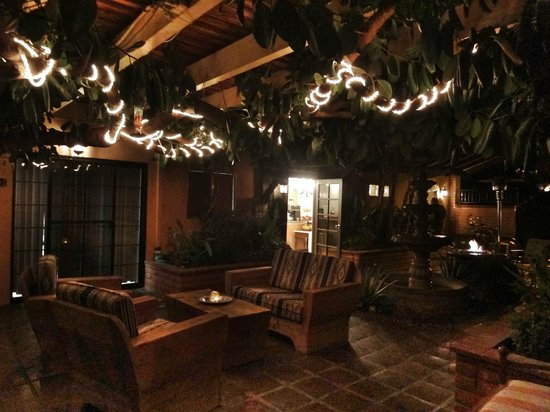 Hotel California:                                     More of the lovely ambiance                               