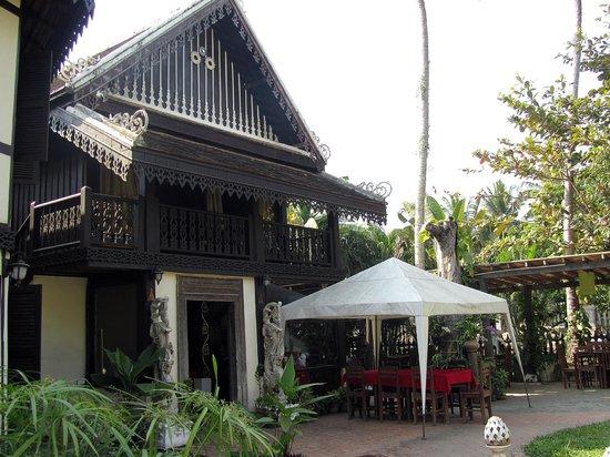 Ramayana Boutique Hotel: Comedor