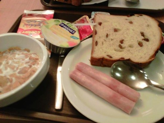 Hotel Ibis Budget Brugge Centrum Station: breakfast