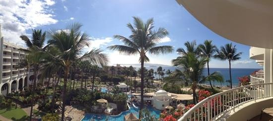 Fairmont Kea Lani, Maui: The beautiful view from 514.