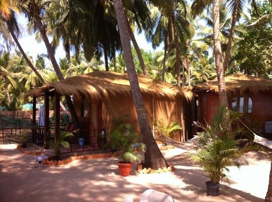 Om Sai Beach Huts:                   one of the huts