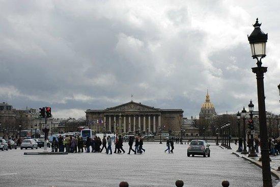 Palais-Bourbon:                   palais Bourbon da place de la Concorde