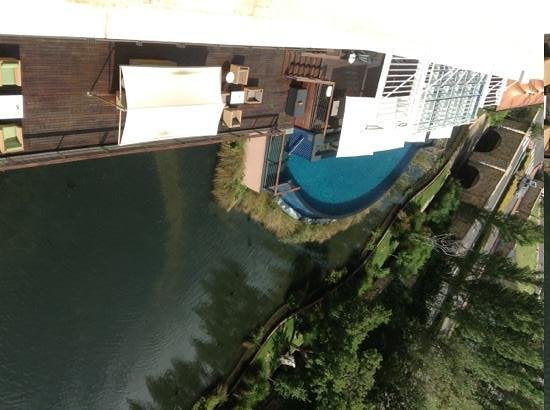 Southern Sun Montecasino: pool and decking, shot from 5th floor room