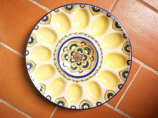 Antica Fornace Deruta: uova plate