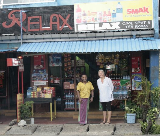 Relax Cool Spot:                   The owner Athula and guest