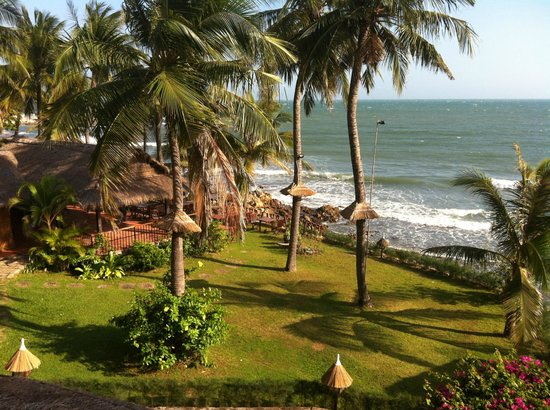 Victoria Phan Thiet Beach Resort & Spa: View from restaurant