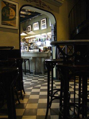 El Born: The vintage interior, room at the rear
