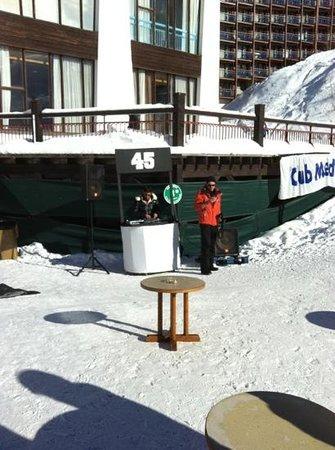 Club Med Arcs Extreme:                   William le Dj de choc                 