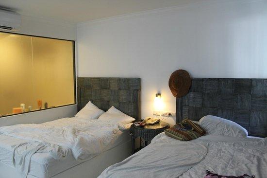 Erus Suites Hotel:                   наш номер