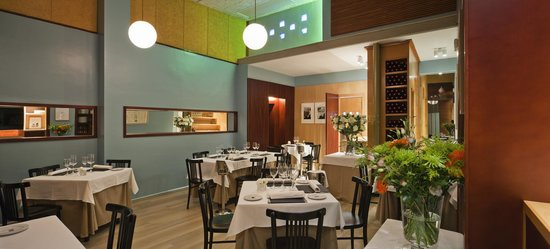 Apartamentos Espacio Eslava: Restaurante ESLAVA