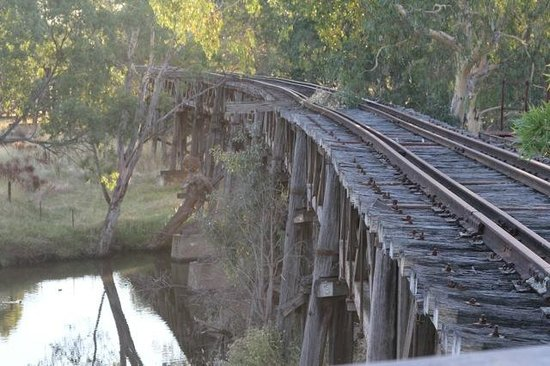 The Prince Alfred Bridge :                   The railway bridge at the Prince Alfred Viaduct