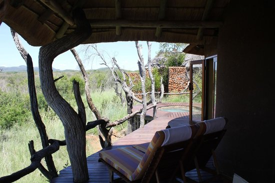 ‪‪Madikwe Safari Lodge‬:                   Room deck